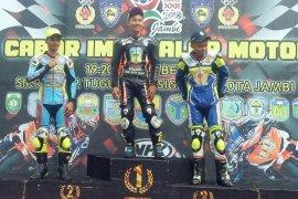 Pembalap Sarolangun sabet dua emas balap motor