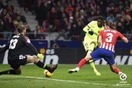 Gol pengujung Dembele berhasil imbangi Atletico