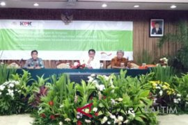 Jauhar nara sumber pada workshop Kementerian KLHK dan KPK