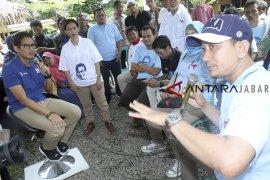 Kampanye Sandiaga Uno di Bogor