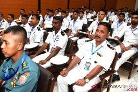 Latihan Bersama TNI AL - India Navy
