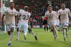 Gol dramatis Rashford menangkan Manchester United atas Bournemouth