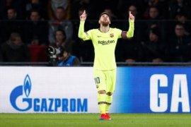 Messi cetak gol dan assist, Barcelona pecundangi PSV di kandang