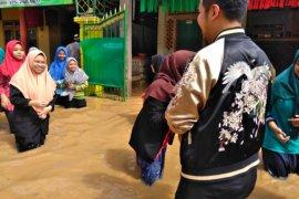 Bupati Tinjau Desa Terdampak Banjir di Trenggalek