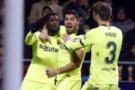 Hasil dan klasemen Liga Spanyol, Atletico pangkas jarak dengan Barca