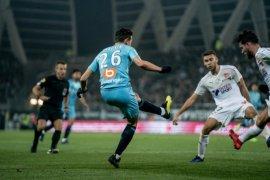Hasil dan klasemen Liga Prancis, Marseille dekati empat besar