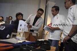 Jokowi bertemu masyarakat kreatif Bandung