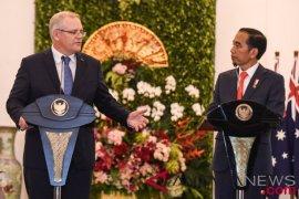 Joko Widodo-Scott Morrison membahas kerja sama di Singapura