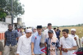 Sandiaga Uno mengunjungi Ponpes Bustanul Ulum Jember