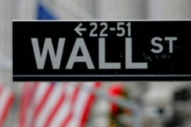 Wall Street berakhir lebih tinggi didorong penguatan saham energi dan keuangan