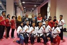 Taekwondo junior Indonesia menimba ilmu di kejuaraan dunia Taiwan