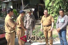 Bupati Paser tinjau proyek jalan Desa Bente Tualan