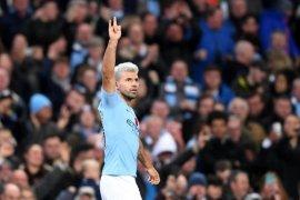 Liga Champions - Gol Aguero bawa City ke 16 besar