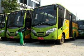 Bus Trans Patriot sementara dioperatori DAMRI
