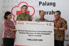 """""""Coca-Cola Foundation"""" bantu korban gempa Palu-Donggala-Lombok 1 juta dolar AS"""