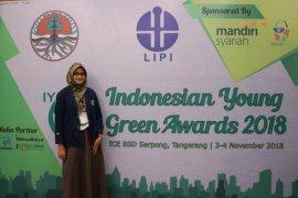 Rancang inovasi daur ulang POME, mahasiswi IPB raih juara 1 Indonesian Young Green Award 2018