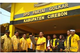 Ketua DPD Golkar Cirebon dipecat, klaim akibat dukung Bamsoet