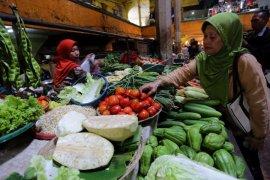 Harga sayuran di Indramayu merangkak naik