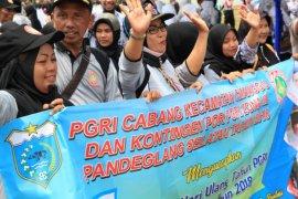 HUT ke-73 PGRI di Pandeglang