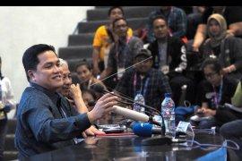 Erick Thohir berminat masuk dalam liga sepak bola nasional