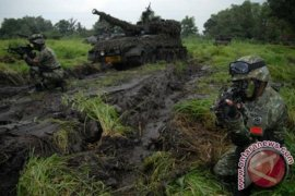 Ribuan personel Kostrad latihan gabungan di Baturaja