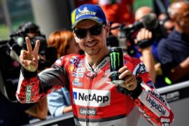 Pesan perpisahan Lorenzo untuk Ducati