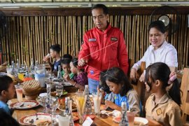 Ini penilaian Jokowi terhadap potensi anak dan menantu terjun berpolitik