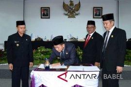 Perda RPJMD Kabupaten Bangka tercepat di Indonesia