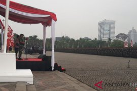 Panglima TNI dan Kapolri pimpin apel kesiapan pengamanan Pemilu