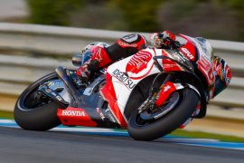 Operasi bahu selesai, Nakagami gunakan motor Marquez di musim depan