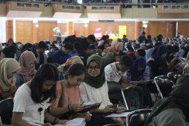 Ribuan siswa SMA ikuti tryout di IPB