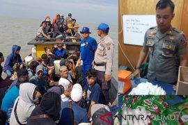 Satpolair Tanjungbalai amankan kapal pengangkut TKI ilegal