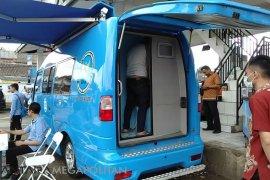 BNNK Sukabumi lakukan tes narkoba kepada pengemudi
