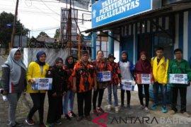 Aktivis Bangka Peduli buka posko korban tsunami