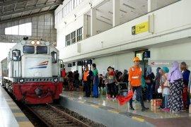 Daop Surabaya catat 837.588 penumpang selama libur Tahun Baru 2020