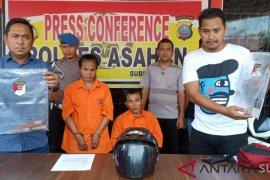 Pelaku pembunuhan di Buntu Pane Asahan ditangkap di  Riau