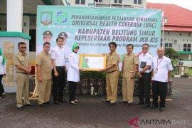 Pemkab Belitung Timur raih penghargaan UHC
