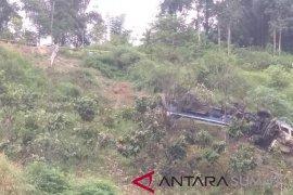Truk fuso terjun ke jurang tewaskan pengemudi
