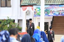 Bupati pimpin peringatan ke-70 Hari Bela Negara