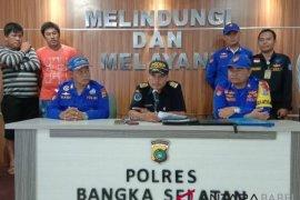 Tim Patroli Babel tangkap tiga kapal compreng ilegal