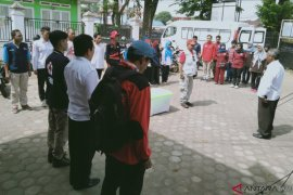 PMI Jambi berangkatkan relawan ke Lampung