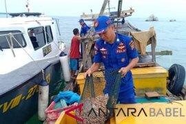 Sat Polair Bangka Selatan tangkap dua kapal trawl