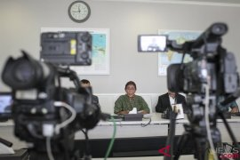 Menteri Susi sampaikan pesan video antikorupsi dari Eropa