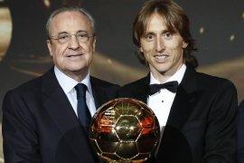 Modric raih penghargaan Ballon d'Or 2018