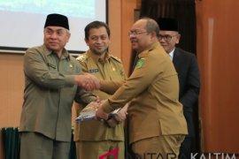 Kutim dapat penghargaan dari Kementerian Keuangan