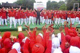 Presiden ikut senam tera Indonesia