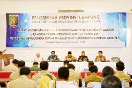 Kabupaten/Kota Di Lampung Agar Percepat Rencana Detail Tata Ruang