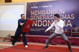 Iko Uwais jalin kolaborasi populerkan MMA Indonesia