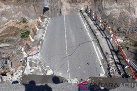 Jembatan di lintas tengah Aceh putus akibat air bah