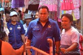 Rachmat Gobel Kunjungi Pasar Tradisional Gorontalo Utara